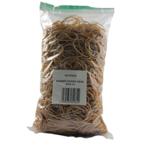 Compare prices for Whitecroft Size 14 Rubber Bands Pack of 454g 2429549
