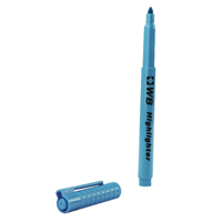 Compare retail prices of Whitecroft Blue Highlighter Pen Pack of 10 WX93201 to get the best deal online