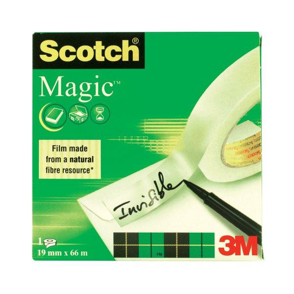 Scotch 19mmx66m Magic Tape 8101966 Leitrim Office Supplies