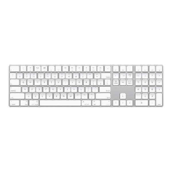 42ba02b0a6e Apple Magic Keyboard With Numeric Keypad - British English White/Silver  MQ052B/A