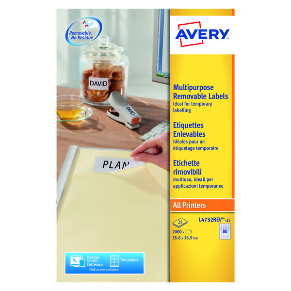 avery removable mini laser labels 35 6 x 16 9mm pack of 2000