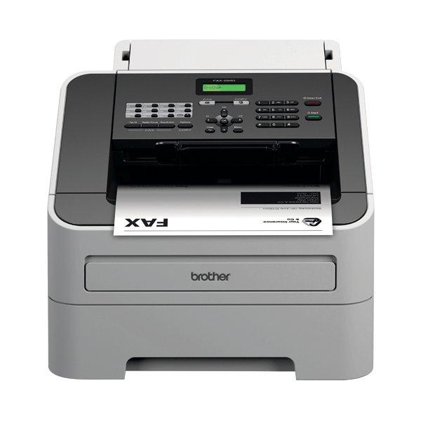 Brother FAX 2840 High Speed Laser Fax Machine White FAX2840ZU1