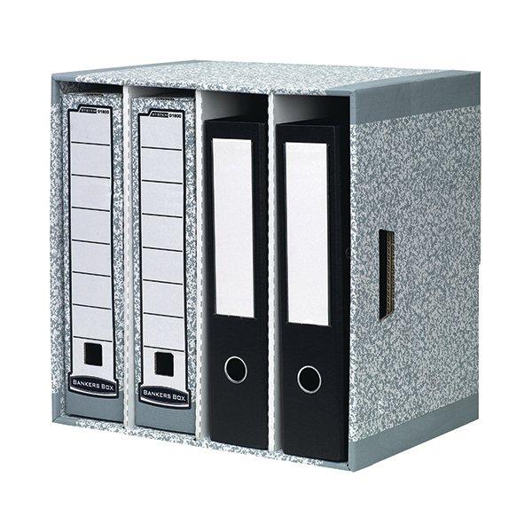 Bankers Box Grey File Store Pack Of 5 01840 Stakelum Office