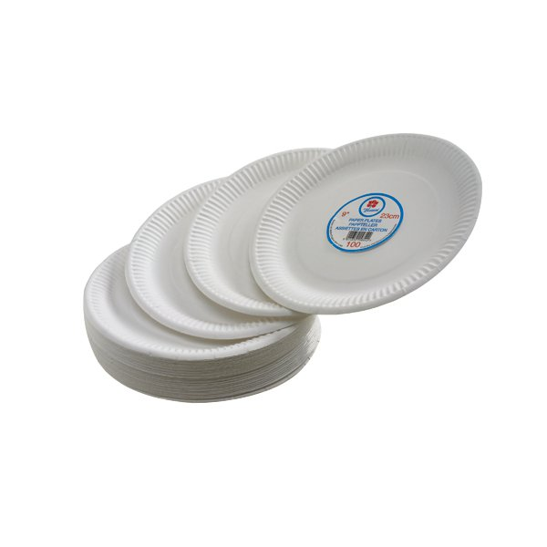 Paper Plate 7 Inch White (Pack of 100) 0511040  sc 1 st  Stakelum Office Supplies & Paper Plate 7 Inch White (Pack of 100) 0511040 - Stakelum Office ...