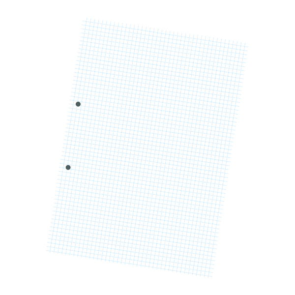 Exercise Paper A4 5mm Squares 2 Hole Punched Pack Of 2500 NU922005