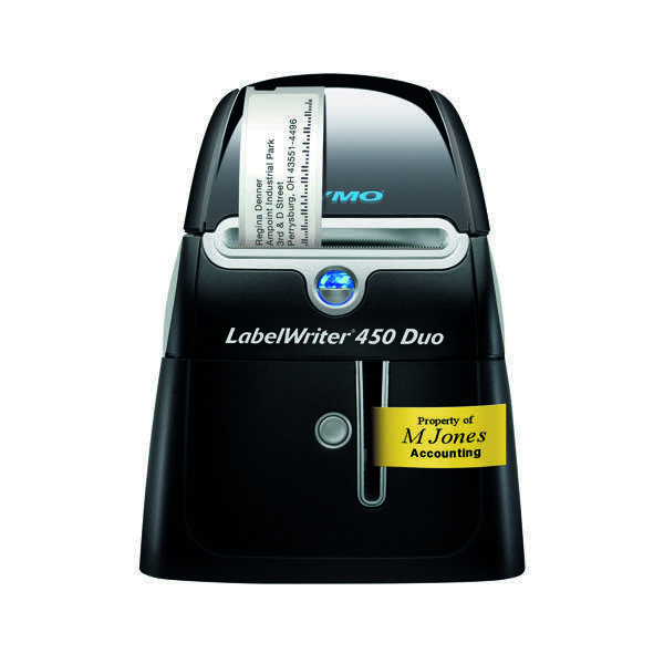 dymo labelwriter 450 duo label printer thermal printer. Black Bedroom Furniture Sets. Home Design Ideas