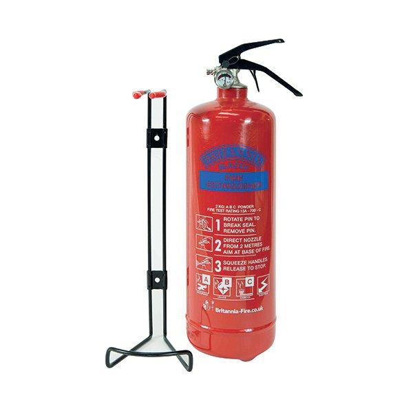 Fire Extinguisher 2 kg ABC Powder ABC2000 - Sigma