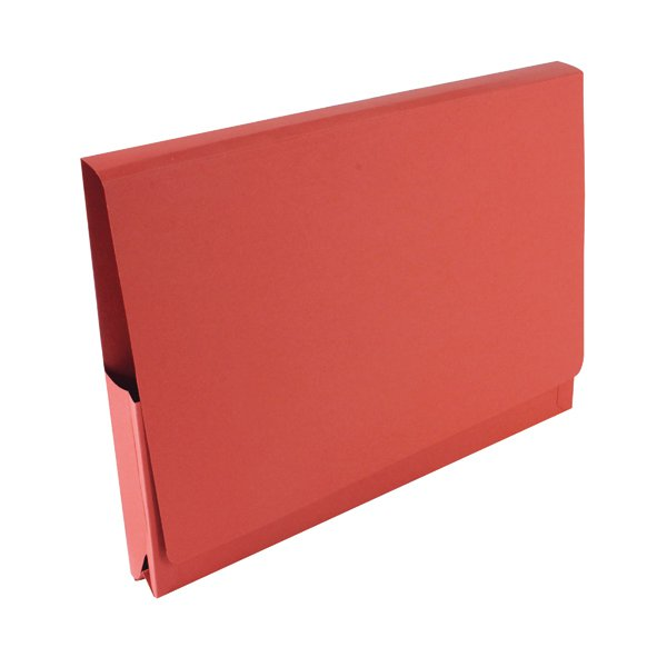 Guildhall Red Pocket Legal Wallet Pack Of 50 Pw3