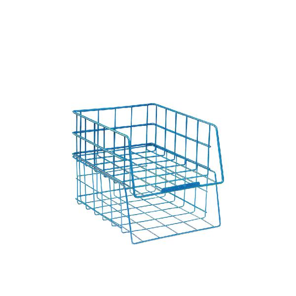 Wire Filing Tray A4 Large Capacity Blue WB999BL - Phroom - Your home ...