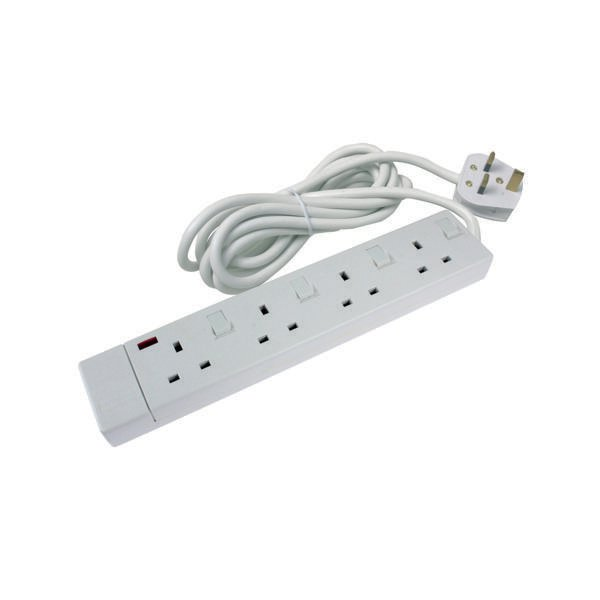Extension Lead To Use In The Office : Ced way extension lead white cedts is the office centre