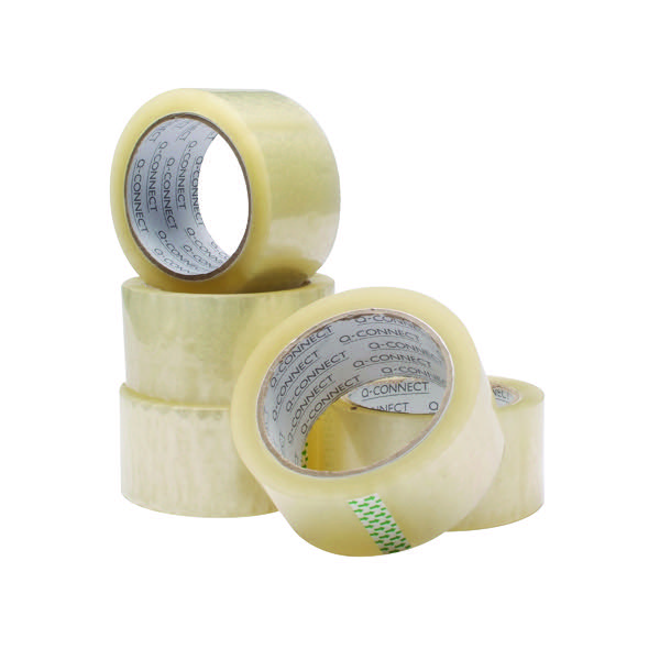 Q Connect Easy Tear Polypropylene Tape