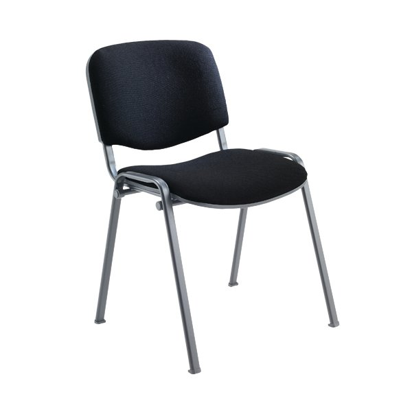 Jemini Charcoal Multi Purpose Stacking Chair Kf03344