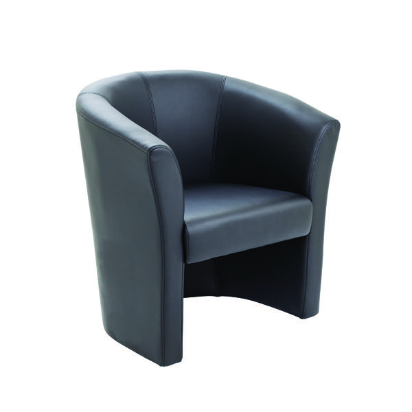 avior black fabric tub chair kf03527 laser ex based in newcastle