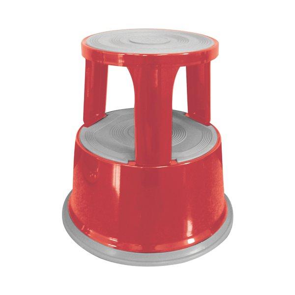 Awe Inspiring Q Connect Red Metal Step Stool Kf04843 Panther Office Uwap Interior Chair Design Uwaporg