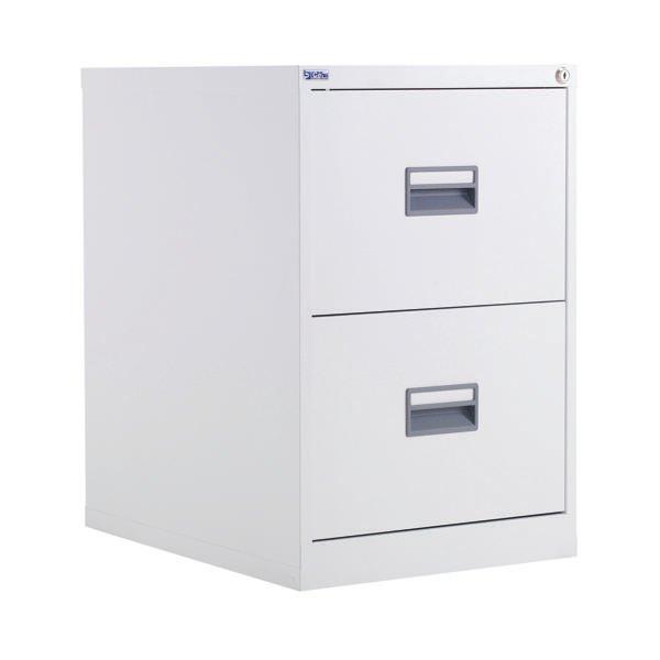 Talos 2 Drawer Filing Cabinet White Kf78765