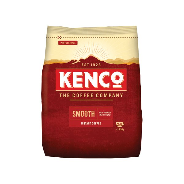 Kenco Smooth Freeze Dried Instant Coffee Refill 650g 924778 - Kelly
