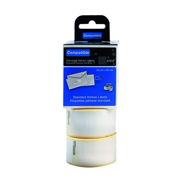 Compatible DYMO Standard Address Label 28 x 89mm (Pack of