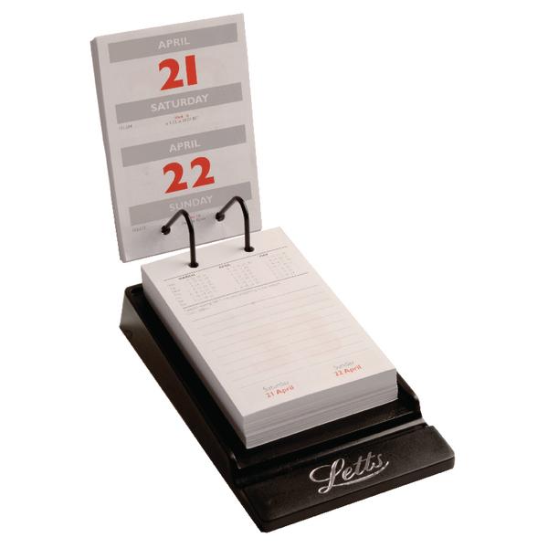 letts system desk calendar 2018 5 tsdc