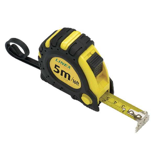 Linex Tape Measure 5m Black Yellow Emt5001 Stationery Supplies