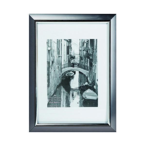 Photo Album Company Premier Certificate Frame A4 Smoke With Silver ...