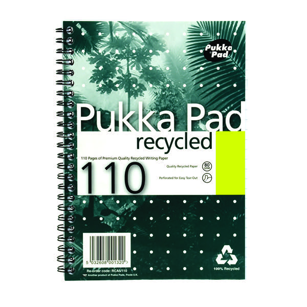 Pack of 3 PROBA5 Pukka A5 Project Book Feint Ruled 250 Pages