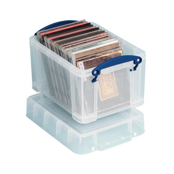 Really Useful Clear 3L Plastic Storage Box 245x180x160mm CD/DVDs 3C  sc 1 st  Paperplus (UK) & Really Useful Clear 3L Plastic Storage Box 245x180x160mm CD/DVDs 3C ...