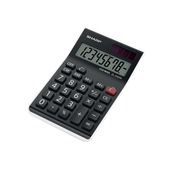 Sharp El310an Semi Desk Calculator