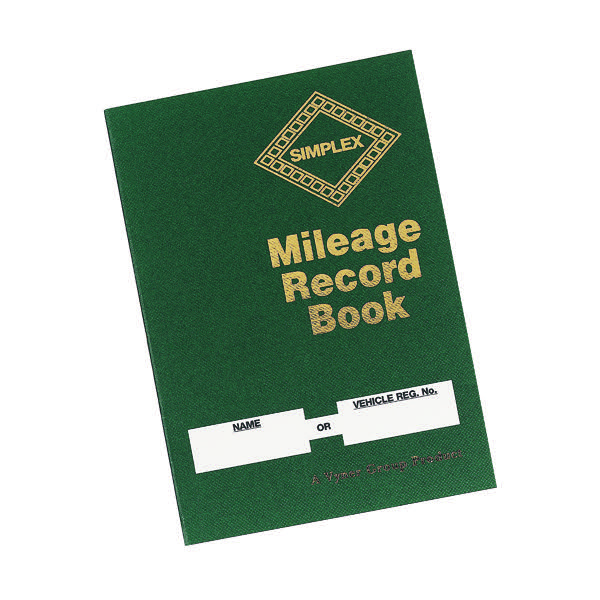 simplex mileage record book mrb stakelum office supplies office
