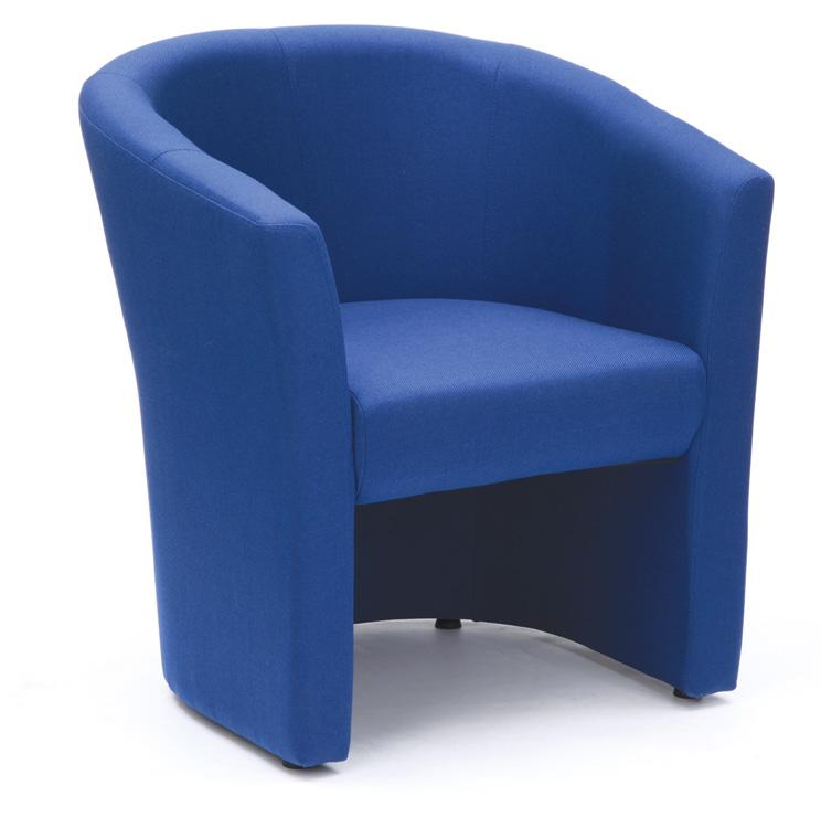 Encounter Tub Chair In Blue Fabric - Aston & James Office Supplies ...