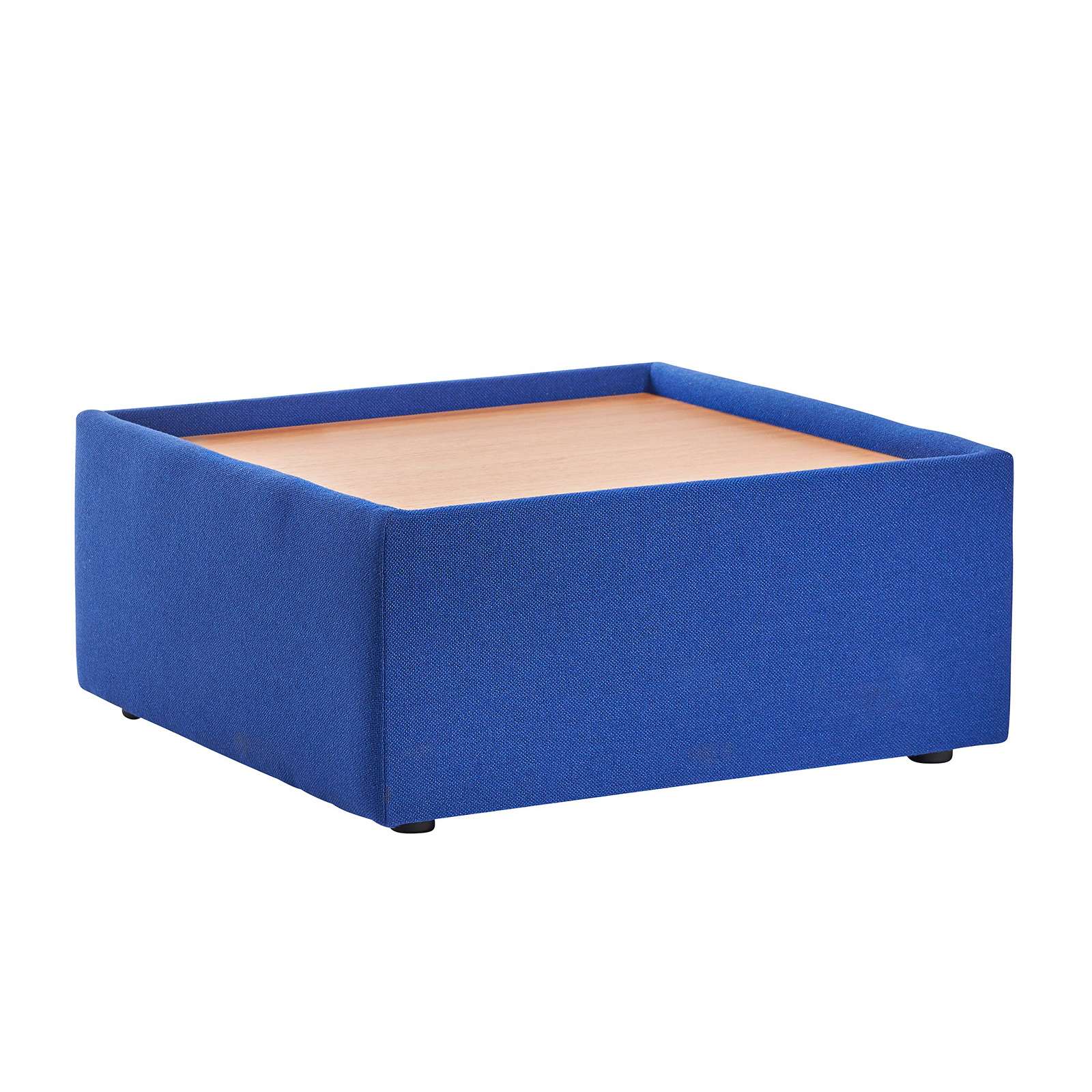 Compare prices for Alto modular Reception Seating Wooden Table - Blue