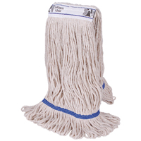 Compare prices for 2Work 340g PY Kentucky Mop Blue Pack of 5 103221BL