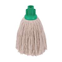 Compare prices for 2Work 12oz Twine Rough Socket Mop Green Pack of 10 PJTG1210I