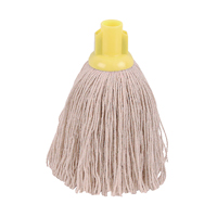 Compare prices for 2Work 12oz Twine Rough Socket Mop Ylw Pack of 10 PJTY1210I