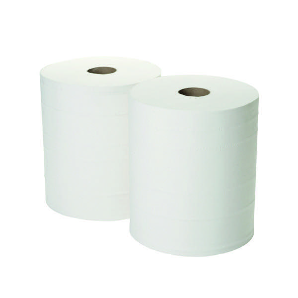 Compare retail prices of 2Work 360mx280mm White 2-Ply Forecourt Roll Pack of 2 1WH100 to get the best deal online