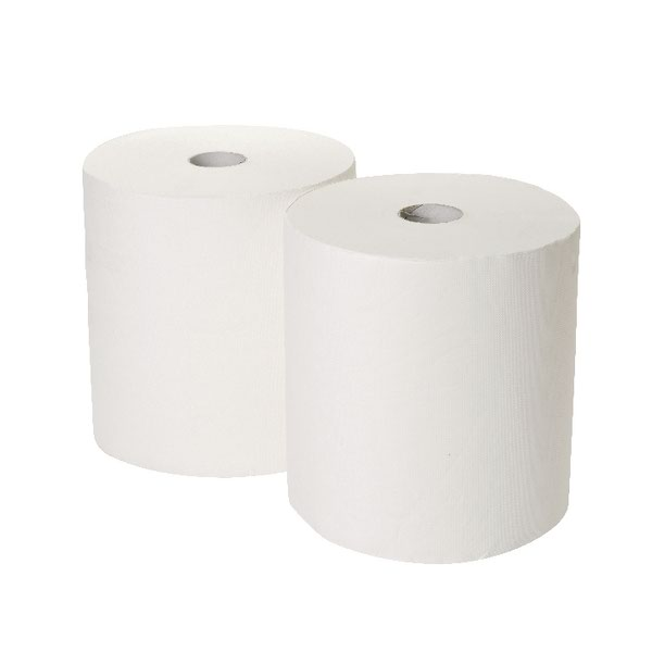 Compare retail prices of 2Work 170mx250mm 3-Ply White Industrial Roll Pack of 2 GEM503B to get the best deal online