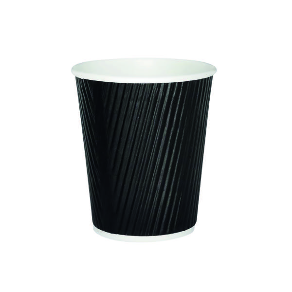 Compare retail prices of 25cl Black Ripple Cup Pack of 500 HVRWBPA08 to get the best deal online