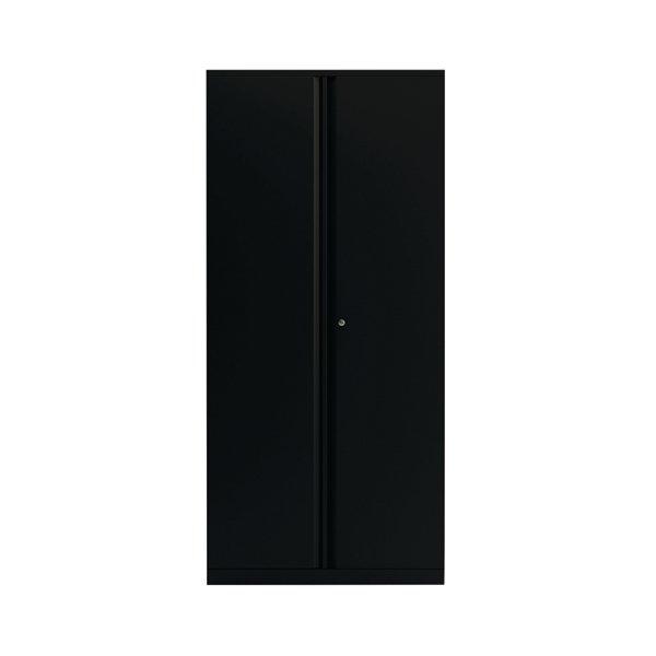 Compare retail prices of 2 Door Cupboard Black 1985mm Empty KF78717 to get the best deal online