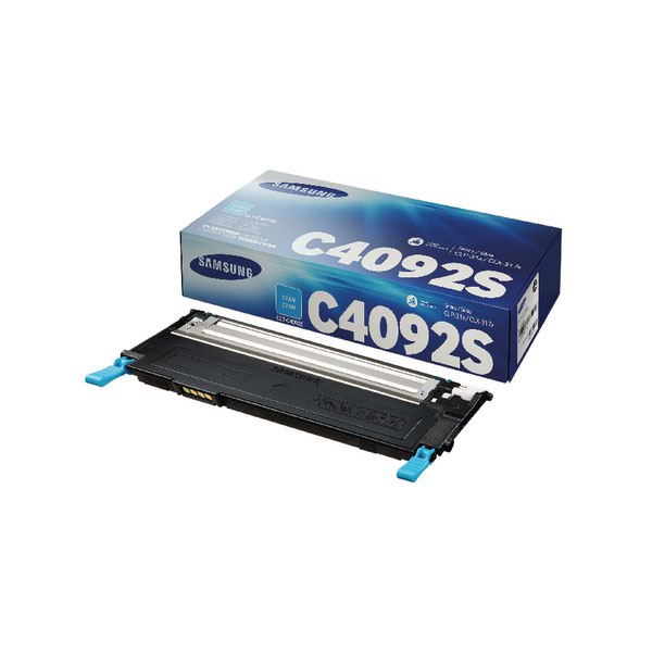 Compare retail prices of Samsung CLT C4092S Cyan Standard Yield Toner Cartridge SU005A to get the best deal online