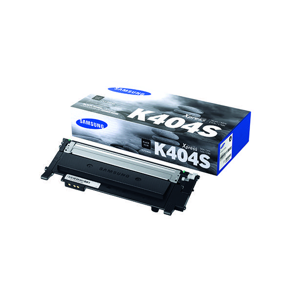 Compare retail prices of Samsung Toner cartridge K404S CLT K404SELS Original Black 1500 pages to get the best deal online