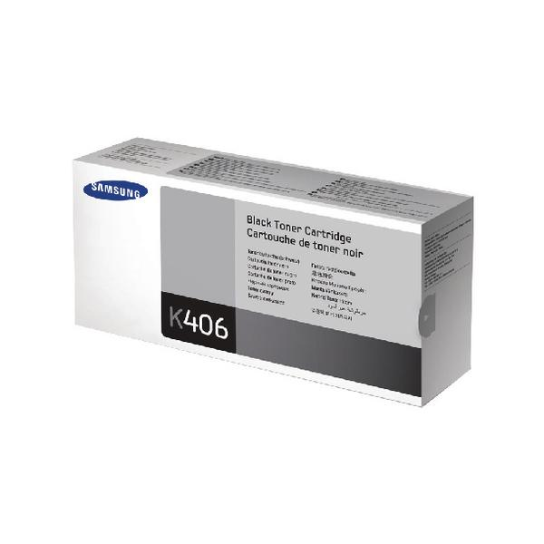 Compare retail prices of Samsung Toner cartridge K406S CLT K406SELS Original Black 1500 pages to get the best deal online