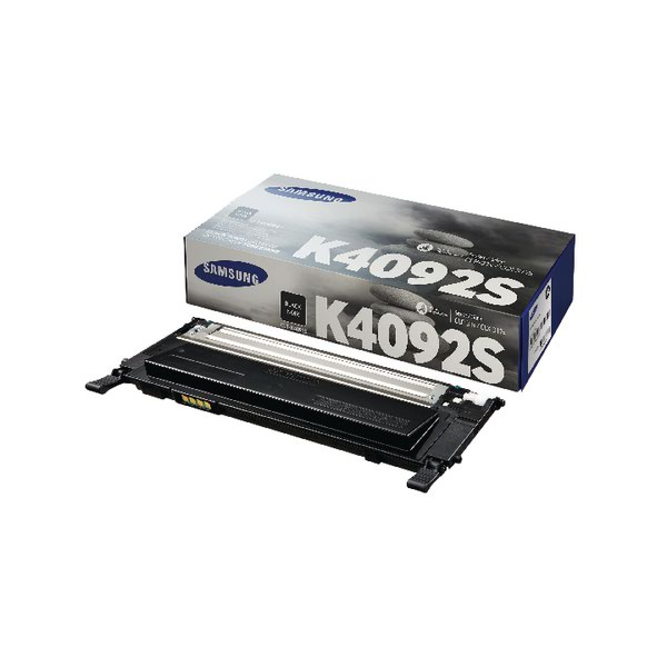 Compare retail prices of Samsung CLT K4092S Black Standard Yield Toner Cartridge SU138A to get the best deal online