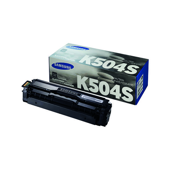Compare retail prices of Samsung Toner cartridge K504S CLT K504SELS Original Black 2500 pages to get the best deal online