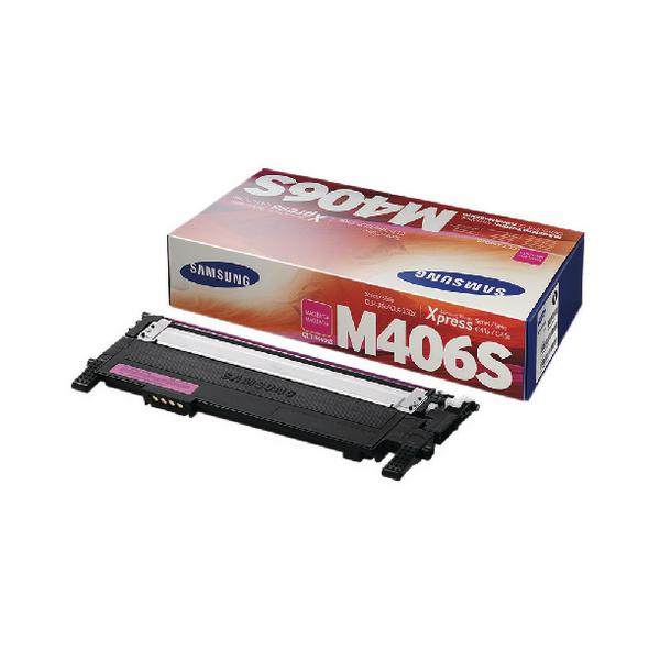 Compare retail prices of Samsung Toner cartridge M406S CLT M406SELS Original Magenta 1000 pages to get the best deal online