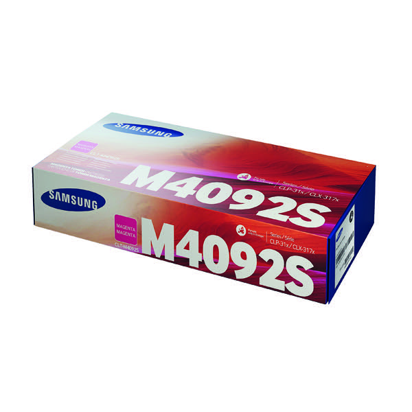 Compare retail prices of Samsung CLT M4092S Magenta Standard Yield Toner Cartridge SU272A to get the best deal online