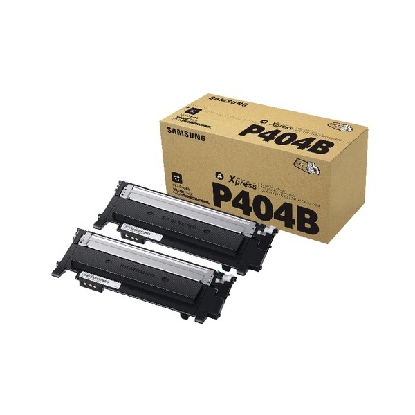 Compare retail prices of Samsung CLT P404B Black Standard Yield Toner Cartridges Pack of 2 SU to get the best deal online