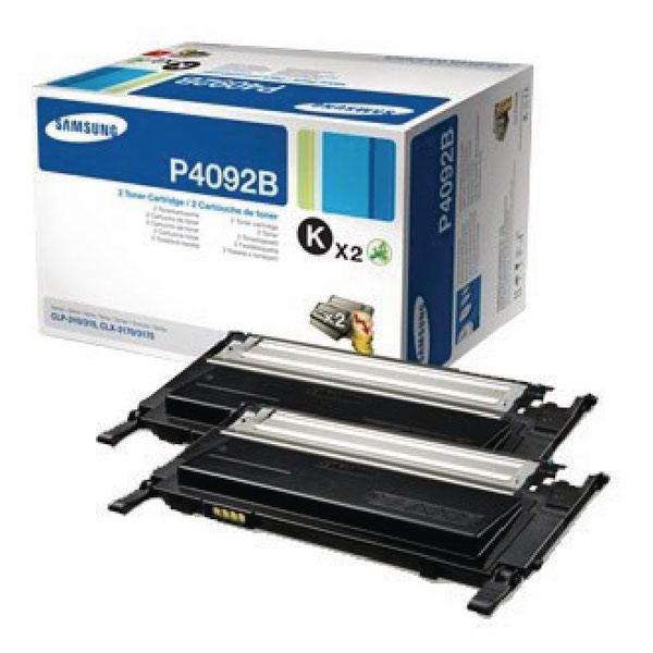 Compare retail prices of Samsung CLT P4092B Black Standard Yield Toner Cartridges Pack of 2 S to get the best deal online