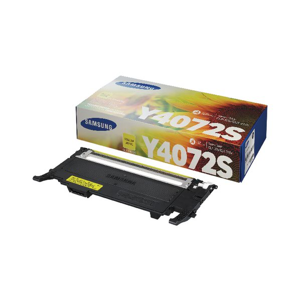 Compare retail prices of Samsung CLT Y4072S Yellow Standard Yield Toner Cartridge SU472A to get the best deal online