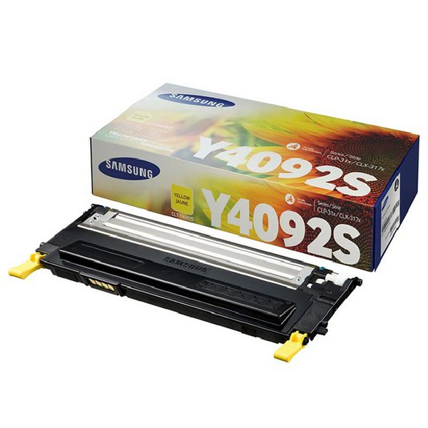 Compare retail prices of Samsung CLT Y4092S Yellow Standard Yield Toner Cartridge SU482A to get the best deal online