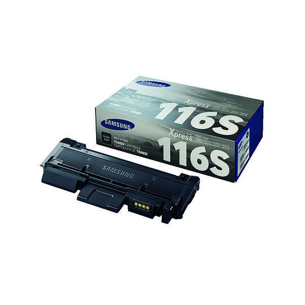 Compare retail prices of Samsung Toner cartridge MLT D116S MLT D116SELS Original Black 1000 pages to get the best deal online