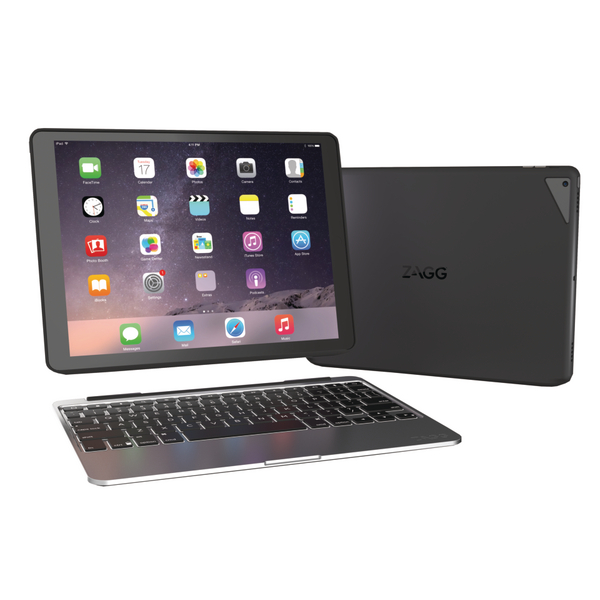 Compare retail prices of Zagg Slim Book Case With keyboard iPad Pro Black Case ID7ZF2-BBU to get the best deal online